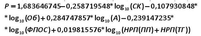 la ecuación 2 [Александр Шеметев (Alexander A. Shemetev)]